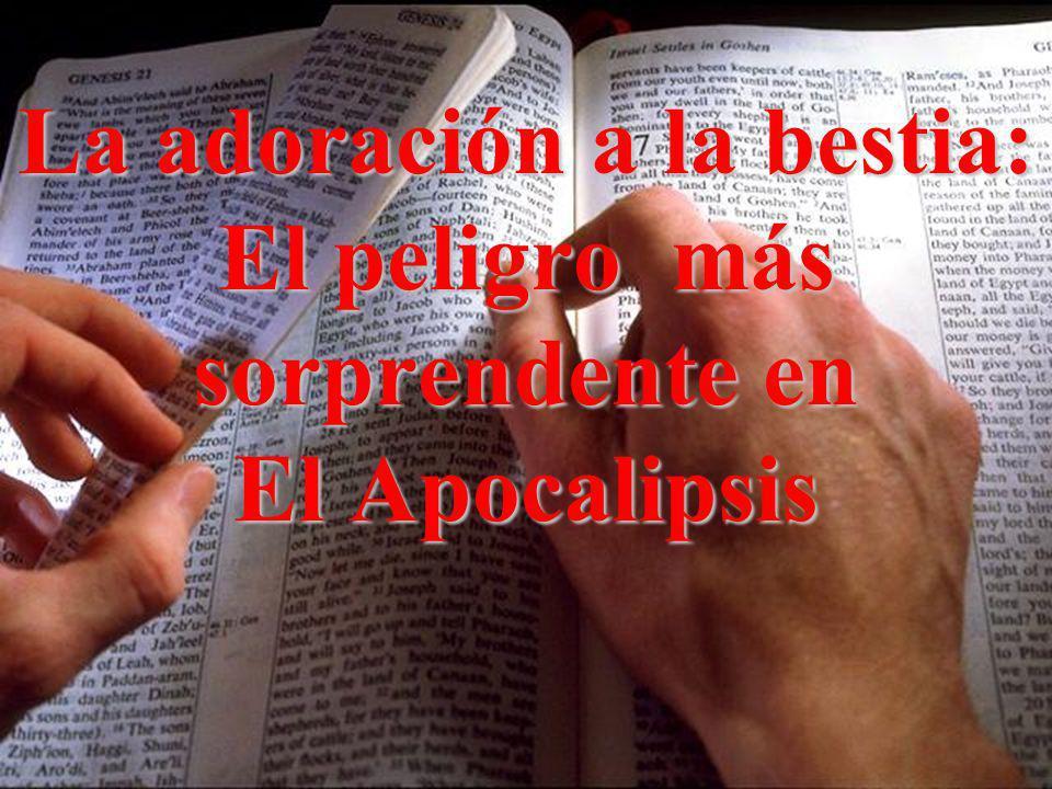 IDENTIFICACIÓN DE LA PRIMERA BESTIA Apocalipsis 13 Sube del mar Sube del mar (pueblos, naciones: Apoc.