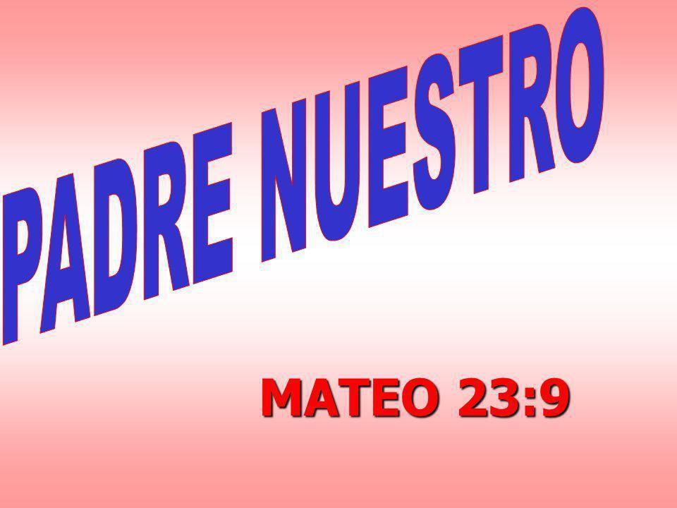 MATEO 23:9