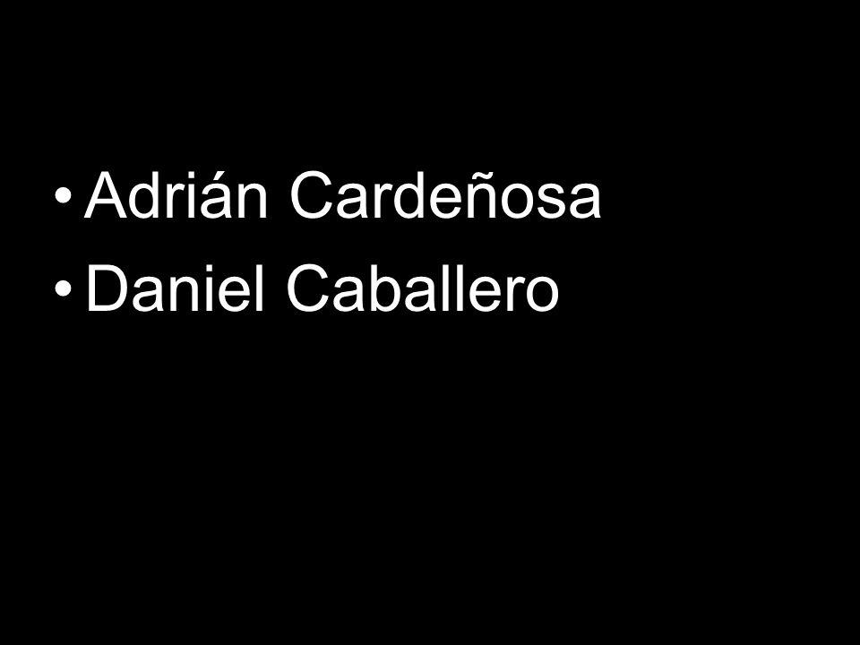 Adrián Cardeñosa Daniel Caballero