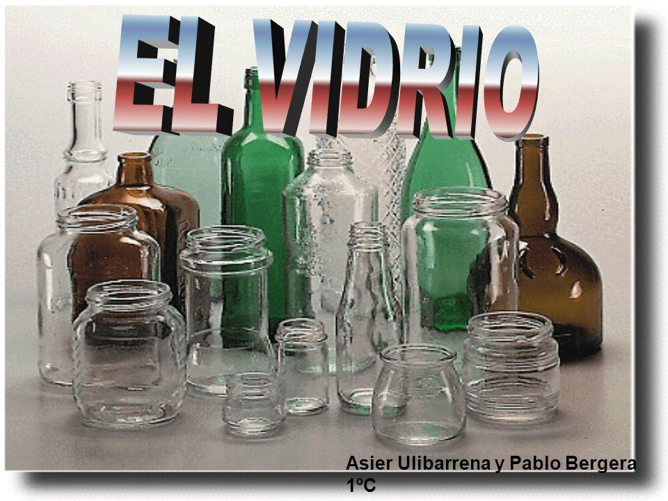 Definición: El vidrio es un material inorgánico duro, frágil, transparente y amorfo que se usa para hacer ventanas, lentes, botellas y una gran variedad de productos.