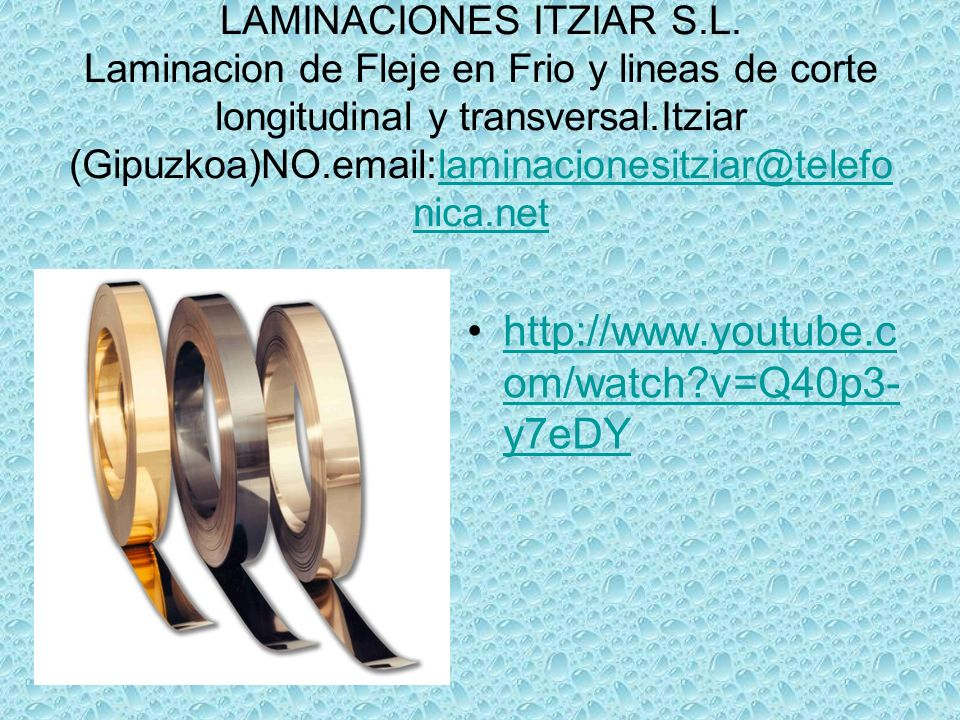 LAMINACIONES ITZIAR S.L.
