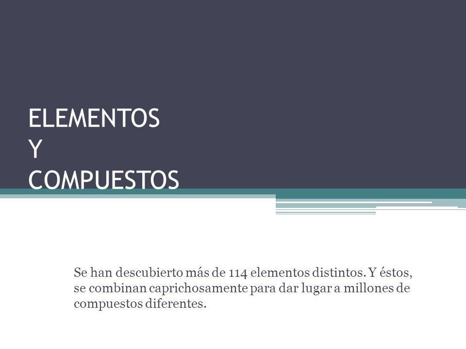 EJERCICIOS 1.¿Cuales de los siguientes elementos crees que son metálicos y cuales no metálicos.