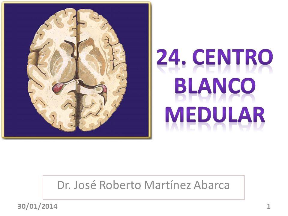 Dr. José Roberto Martínez Abarca 30/01/20141