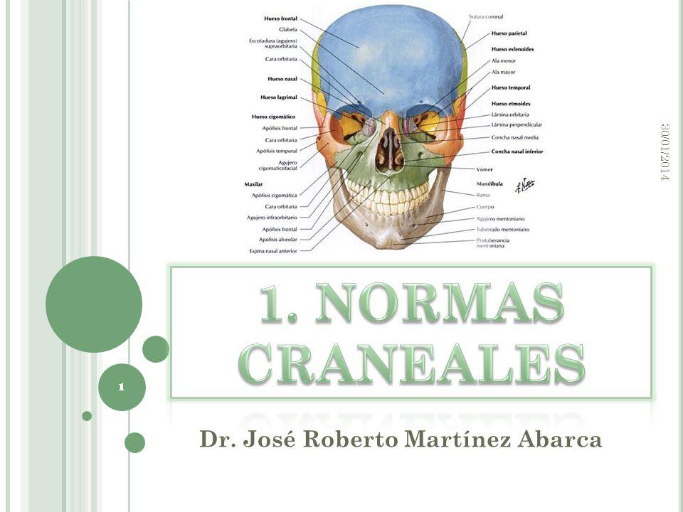 Dr. José Roberto Martínez Abarca 30/01/2014 1