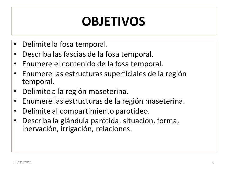 COMPARTIMIENTO PAROTIDEO 30/01/201413