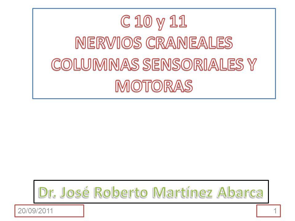 Que el estudiante al finalizar el tema sea capaz de: Comparar los componentes funcionales de un nervio craneal con aquellos del nervio espinal.