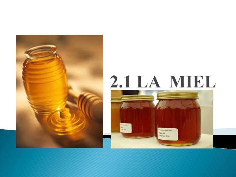 La miel puede definirse como la sustancia dulce natural, producida por las abejas obreras a partir del néctar de las flores o de las secreciones procedentes de partes vivas de las plantas y/o de excreciones de insectos succionadores de plantas que quedan sobre partes vivas de las plantas que las abejas recogen, transforman (y combinan con sustancias específicas propias), almacenan y dejan madurar en los panales.