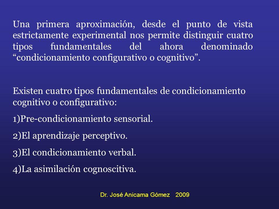 Una primera aproximación, desde el punto de vista estrictamente experimental nos permite distinguir cuatro tipos fundamentales del ahora denominado co