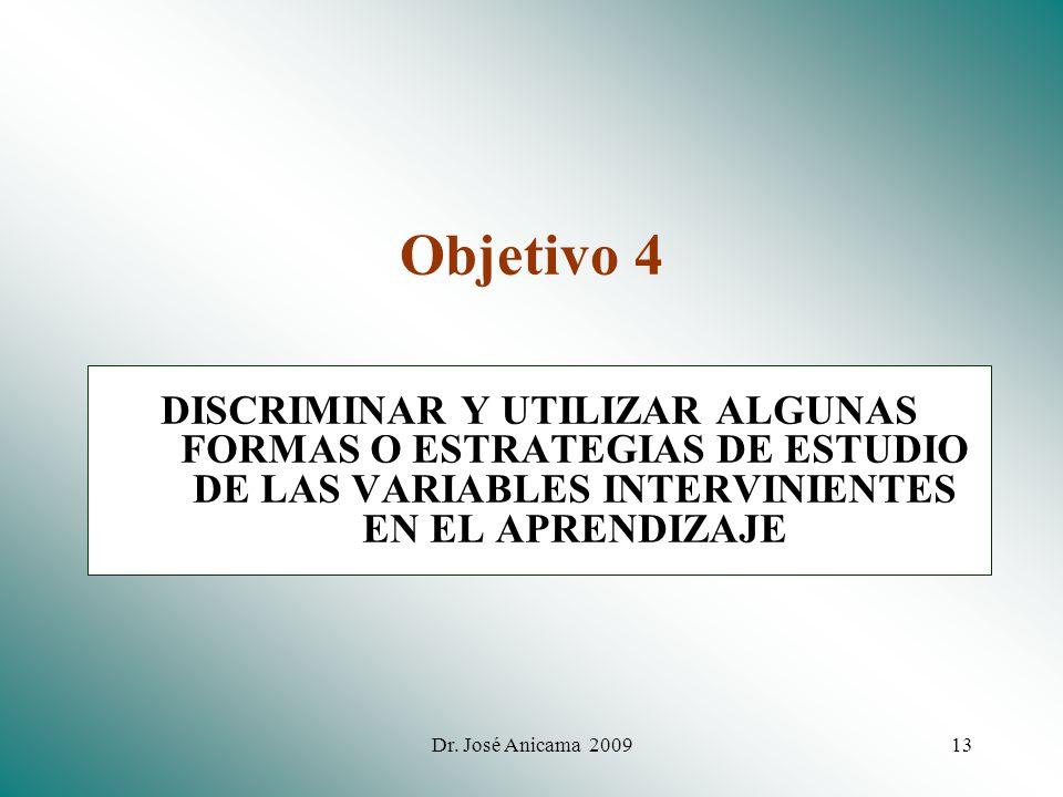 Dr. José Anicama 200912 Aprendizaje como PROCESO (E-O-R) Concepto. EL APRENDIZAJE ES EL PROCESO COMPLEJO DE ADQUISICIÓN DE CONOCIMIENTOS, HABILIDADES,