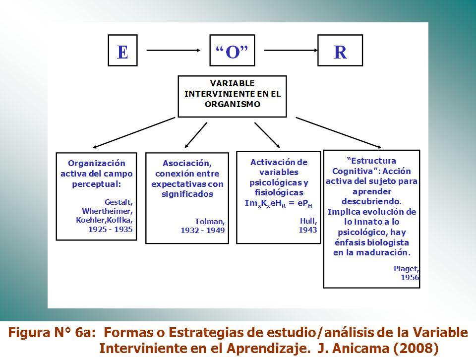 Dr. José Anicama 200913 Objetivo 4 DISCRIMINAR Y UTILIZAR ALGUNAS FORMAS O ESTRATEGIAS DE ESTUDIO DE LAS VARIABLES INTERVINIENTES EN EL APRENDIZAJE