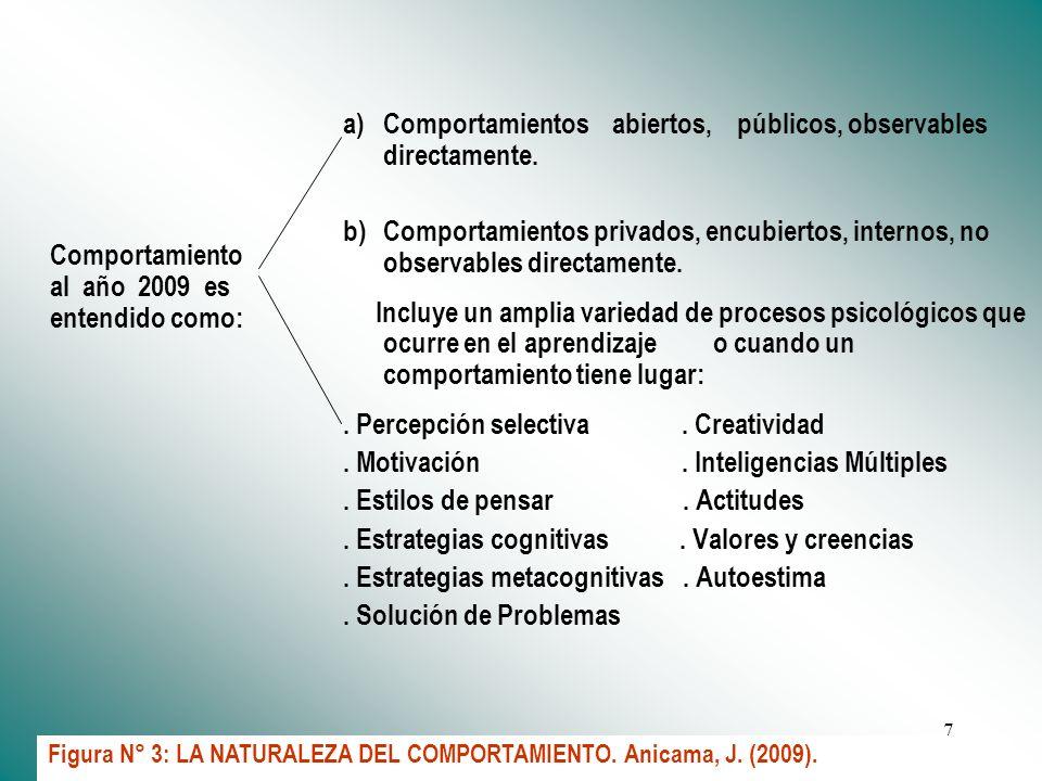 Dr. José Anicama 20076 TIEMPO XTIEMPO X + 1TIEMPO X + 2TIEMPO X + n Rendimiento: P Evaluación de entrada (antes del aprendizaje) Rendimiento: P + 1Ren