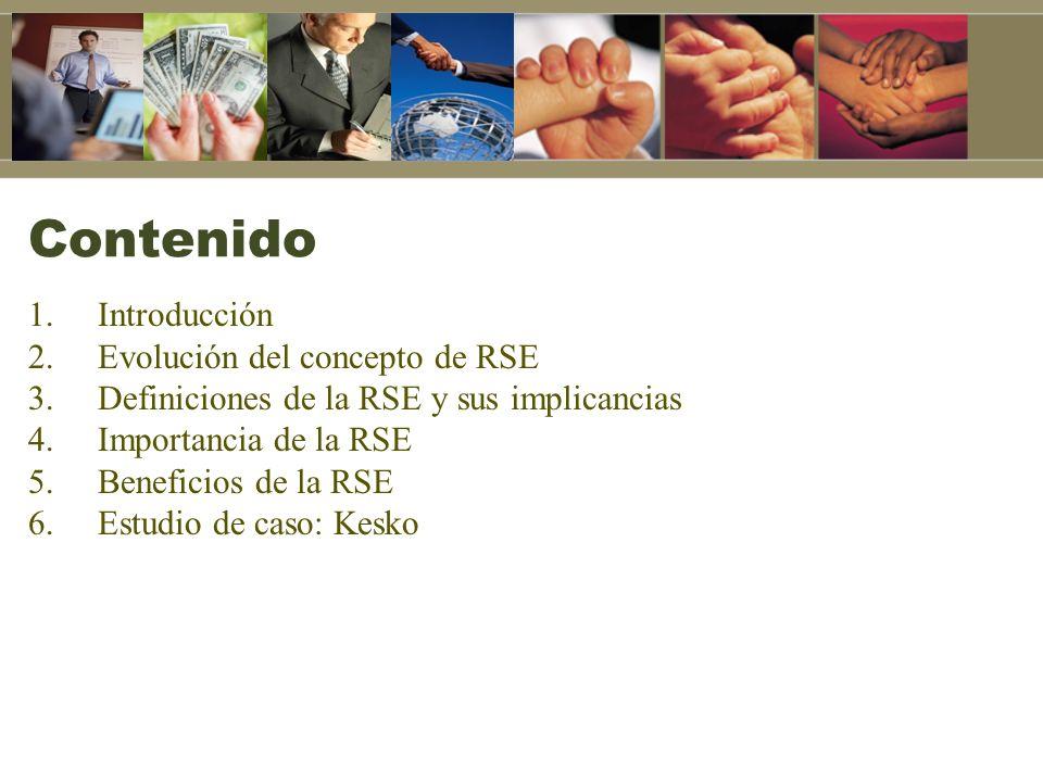 4.Importancia de la RSE: Exigencias de los mercados