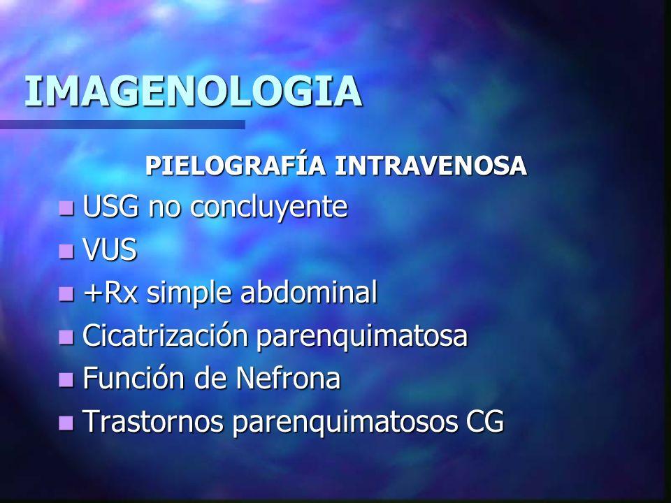 IMAGENOLOGIA CISTOURETROGRAMA DE VACIAMIENTO IVU+Alt.