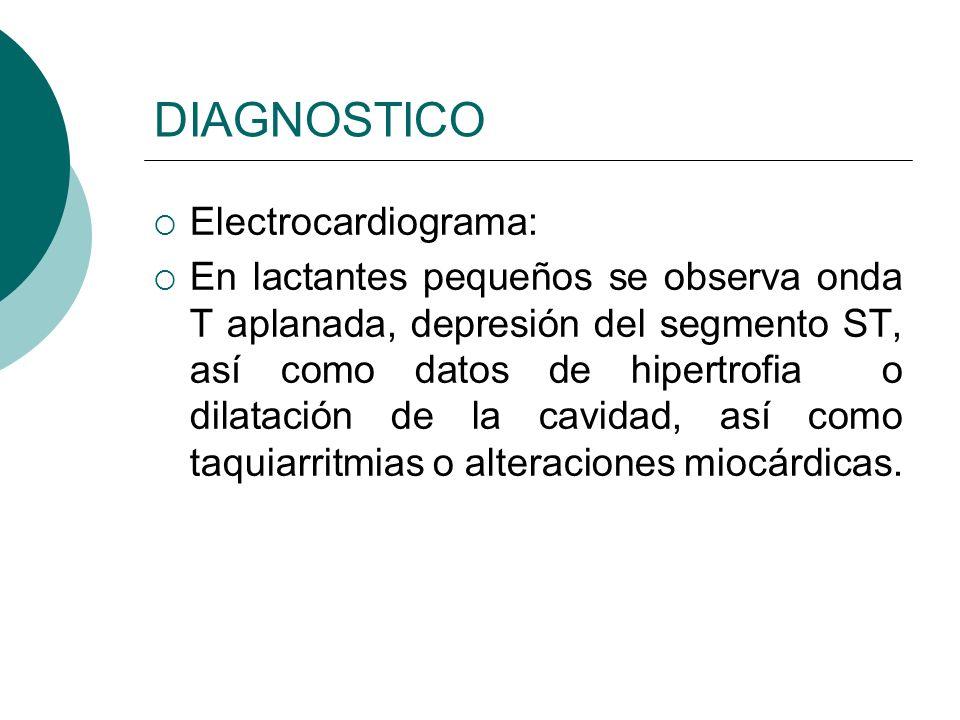 DIAGNOSTICO Laboratorios: BHC es necesaria para determinar los valores de Hb y HTC Electrolitos Gasometría Glucosa hemocultivo en casos de infección.