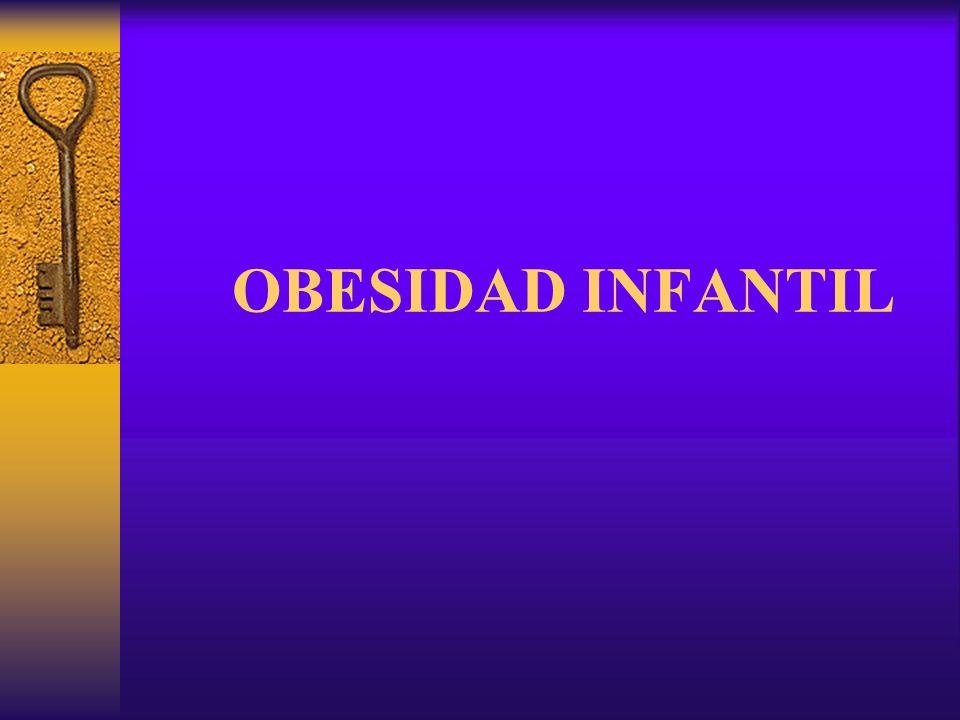 Introducción La obesidad es la desnutrición más frecuente en los niños y jóvenes de los países desarrollados.