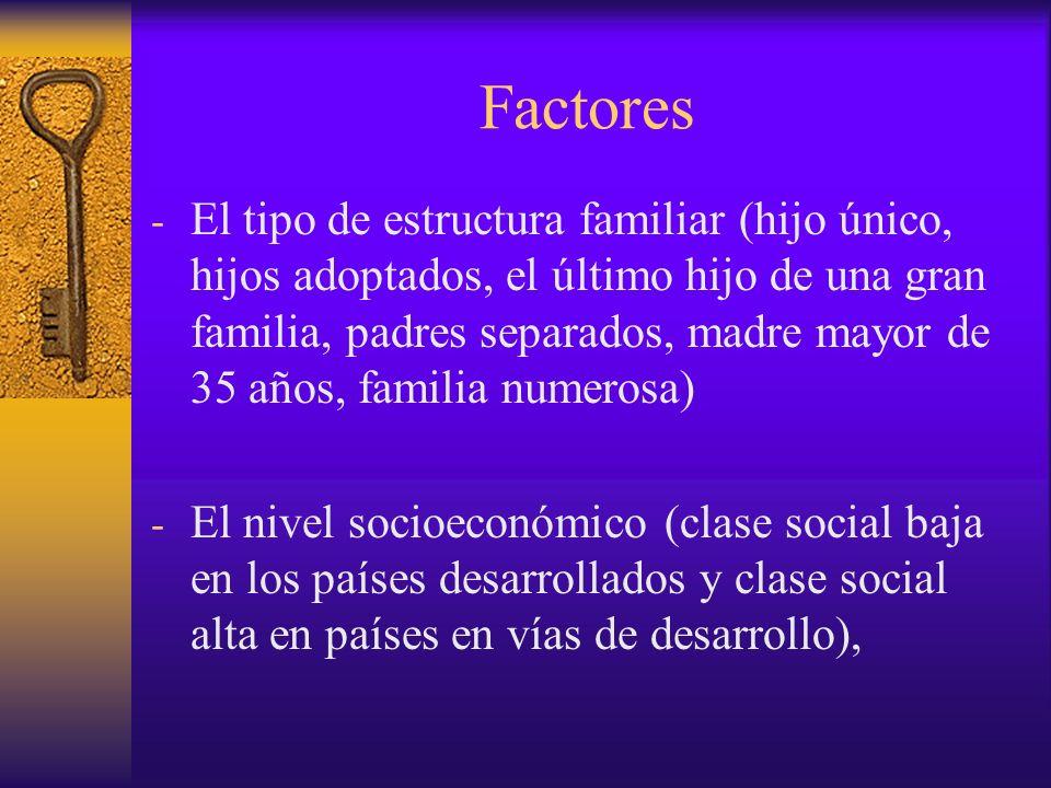 Factores - Factores relacionados con el clima - La falta de ejercicio físico - Fácil acceso a la comida.