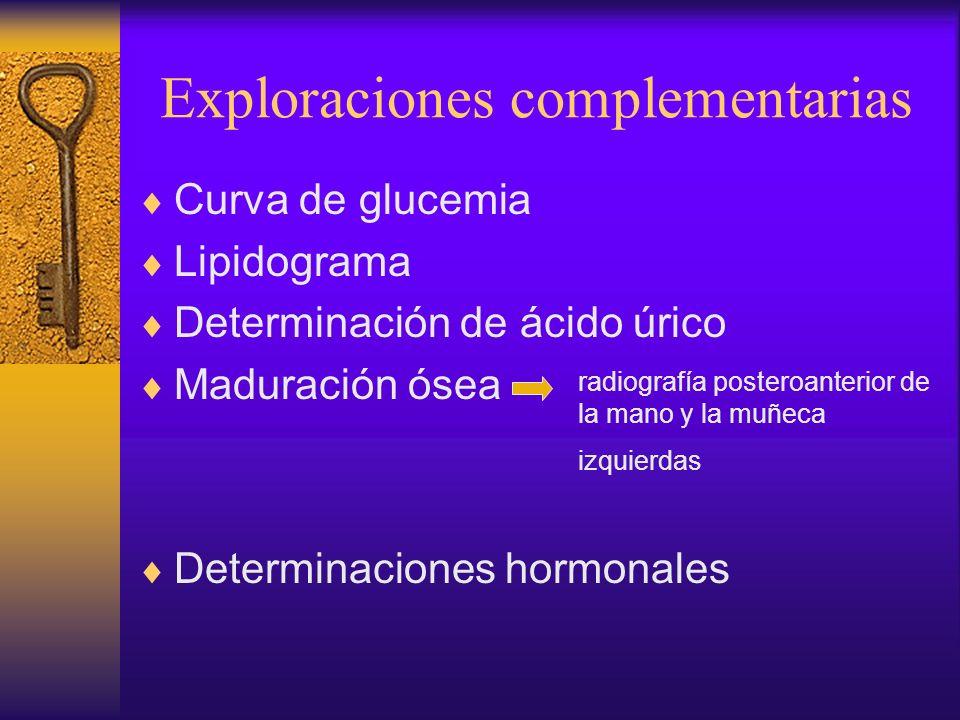 DIAGNÓSTICO DIFERENCIAL Causas endócrinas Síndromes genéticos Otros síndromes