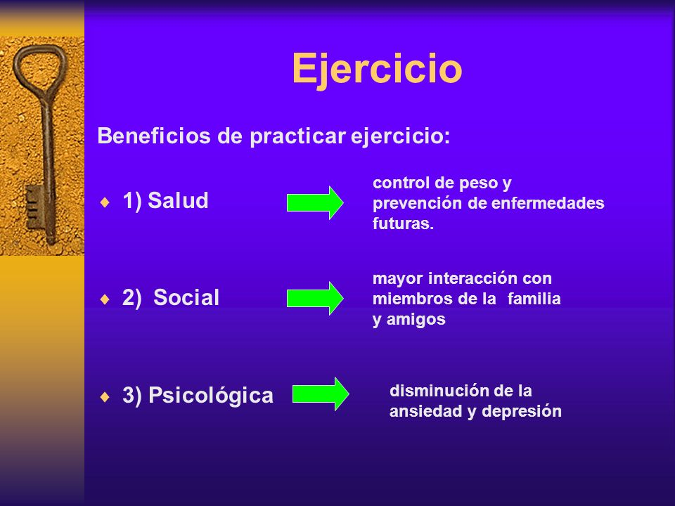 Además se debe: Retirar al paciente de la vida sedentaria por largos periodos Motivar al niño para que realice actividad física aeróbica (20 a 40 minutos diariamente)