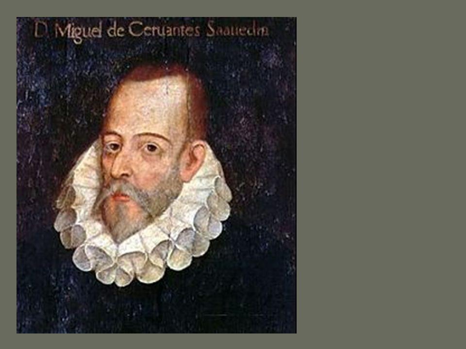 Algunas ideas sobre el Quijote: la voz de Cervantes Cervantes muestra constantemente su voz en la novela; no desaparece tras un narrador; su voz se oye claramente.
