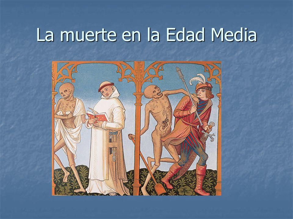 La muerte en la Edad Media