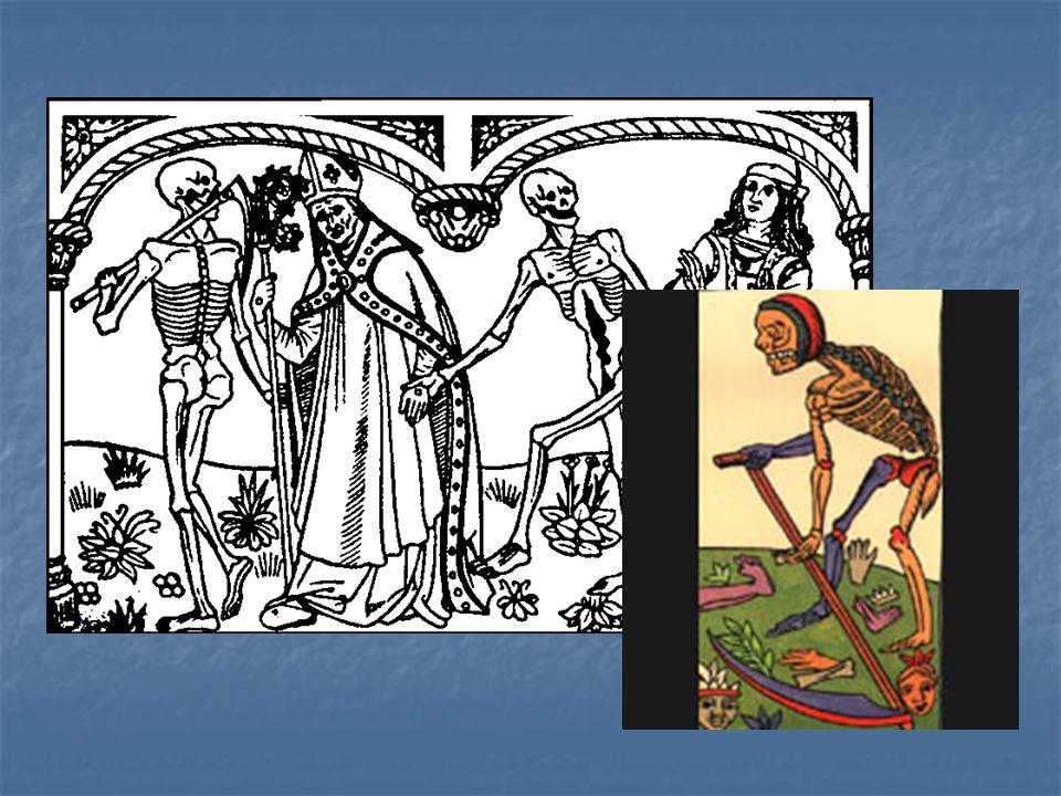 A finales de la Edad Media se produce una auténtica obsesión por la muerte.