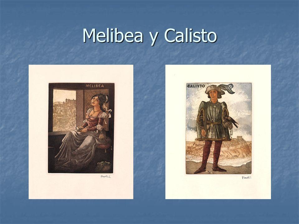 Melibea y Calisto