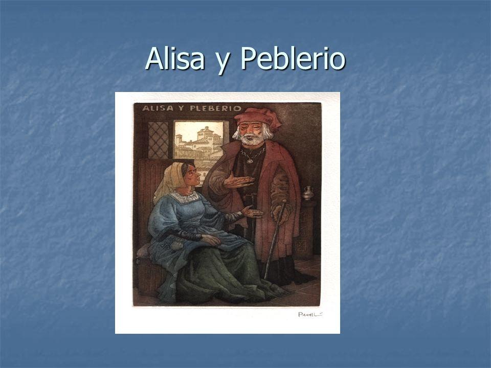Alisa y Peblerio