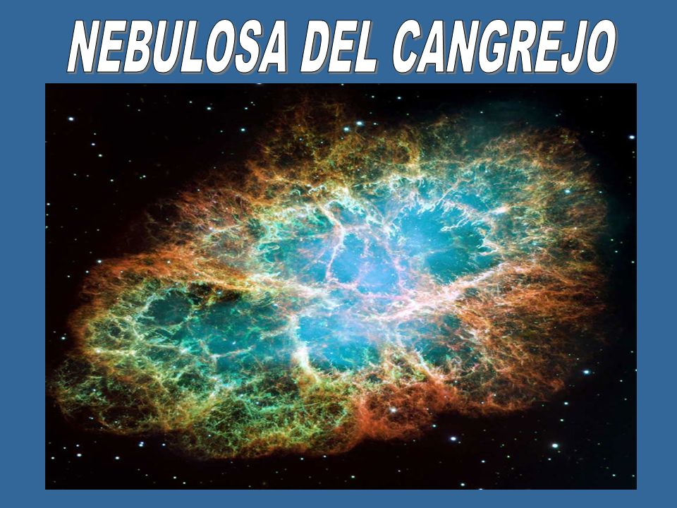 Es un resto de supernova de tipo plerión resultante de la explosión de una supernova, vista por primera vez en el año 1054, por astrónomos chinos y árabes.