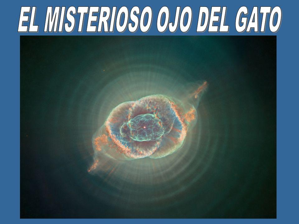 La nebulosa Ojo de Gato es una nebulosa planetaria en la constelacion del Gragon.