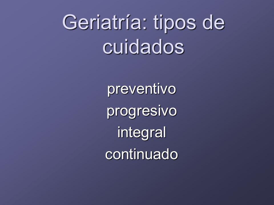 Particularidades de la medicina preventiva en la vejez Conciencia colectiva: vejez = enfermedad.