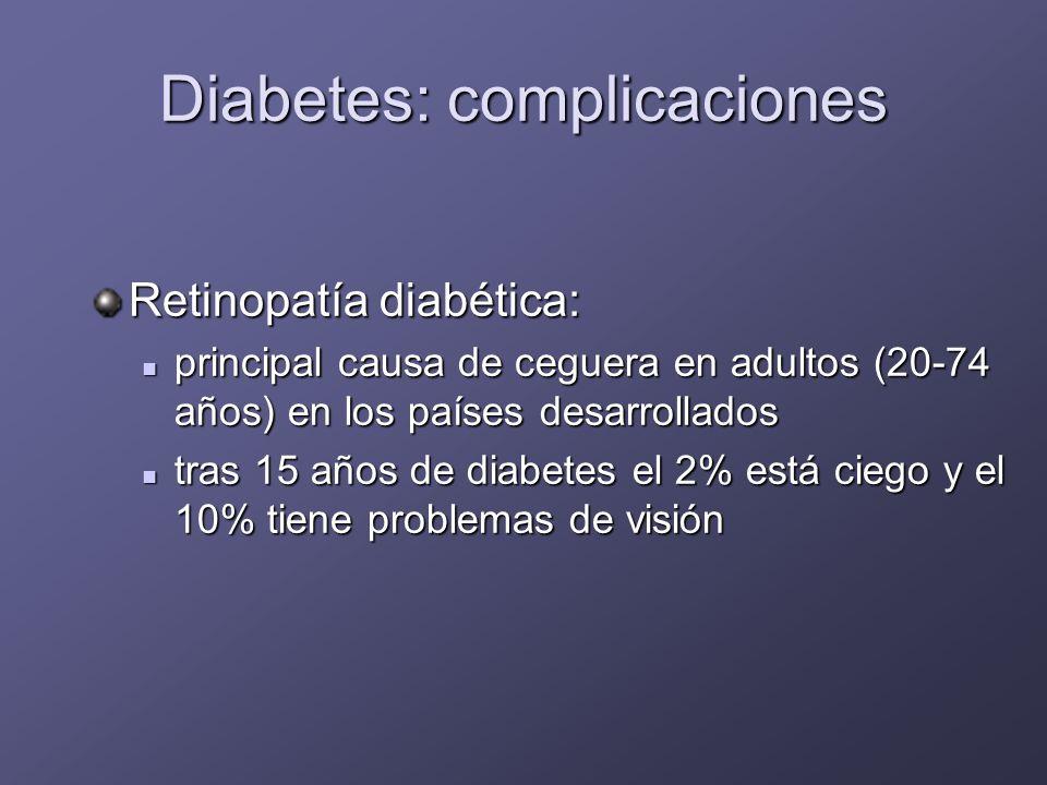 DM screening Generalmente las personas con diabetes tipo 1 tienen síntomas de diabetes y niveles de glucosa marcadamente elevados La diabetes tipo 2 es diagnosticada cuando aparecen las complicaciones Hay evidencia de la necesidad de screening en personas de riesgo