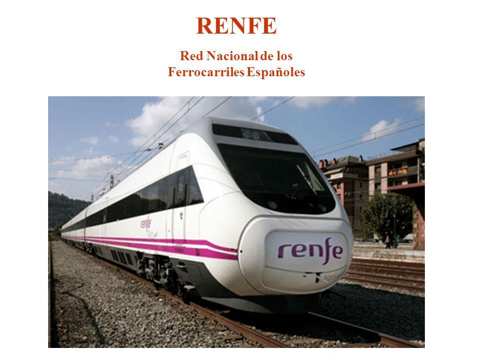 RENFE Red Nacional de los Ferrocarriles Españoles