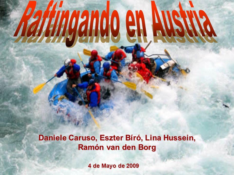 Daniele Caruso, Eszter Bíró, Lina Hussein, Ramón van den Borg 4 de Mayo de 2009