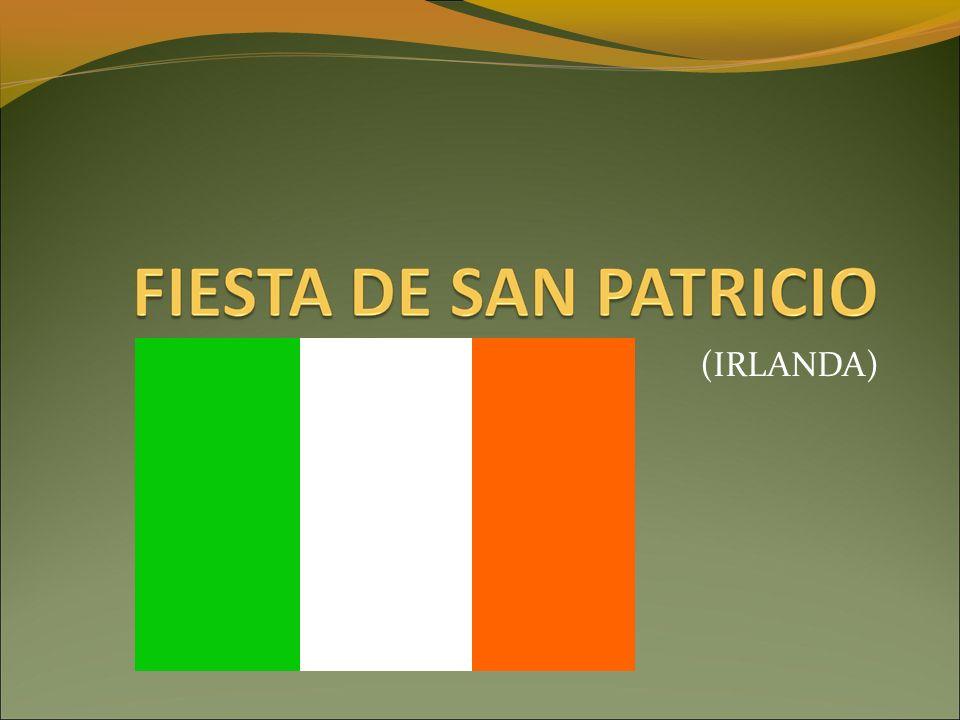 SAN PATRICIO ES FAMOSO… Porque fue quien llevó el cristianismo a Irlanda.