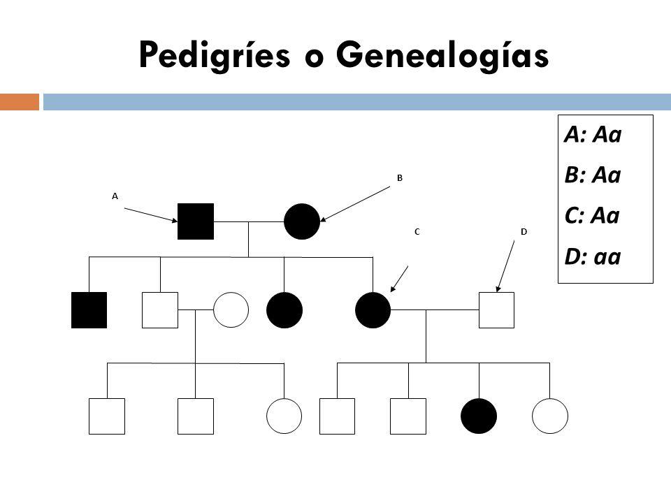 Genética mendeliana ÍNDICE