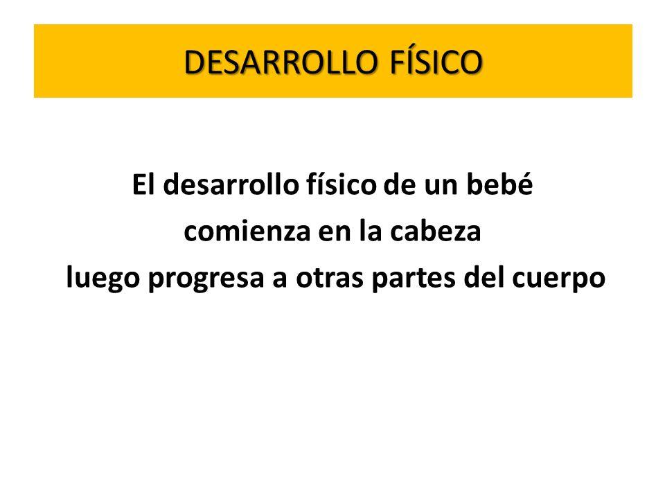 DESARROLLO DEL LENGUAJE 0-2 meses Se alerta ante las voces.