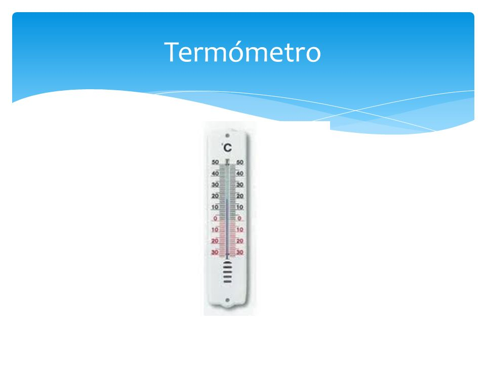 Termómetro