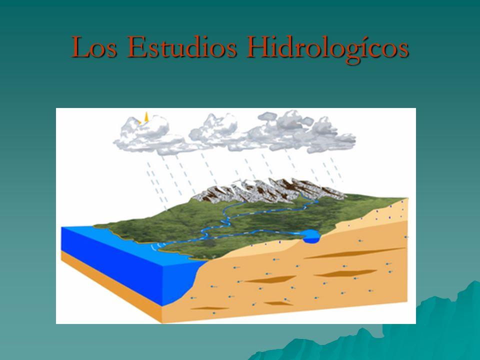 Los Estudios Hidrologícos