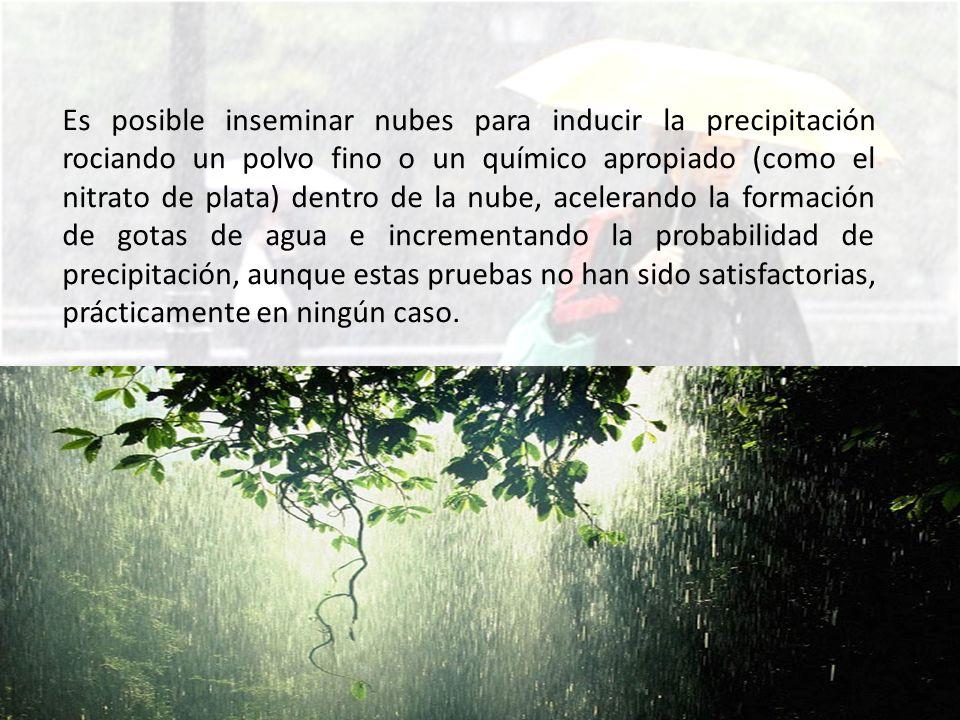 MEDICIÓN DE LA PRECIPITACIÓN Los valores de precipitación, para que sean válidos, deben ser científicamente comparables.