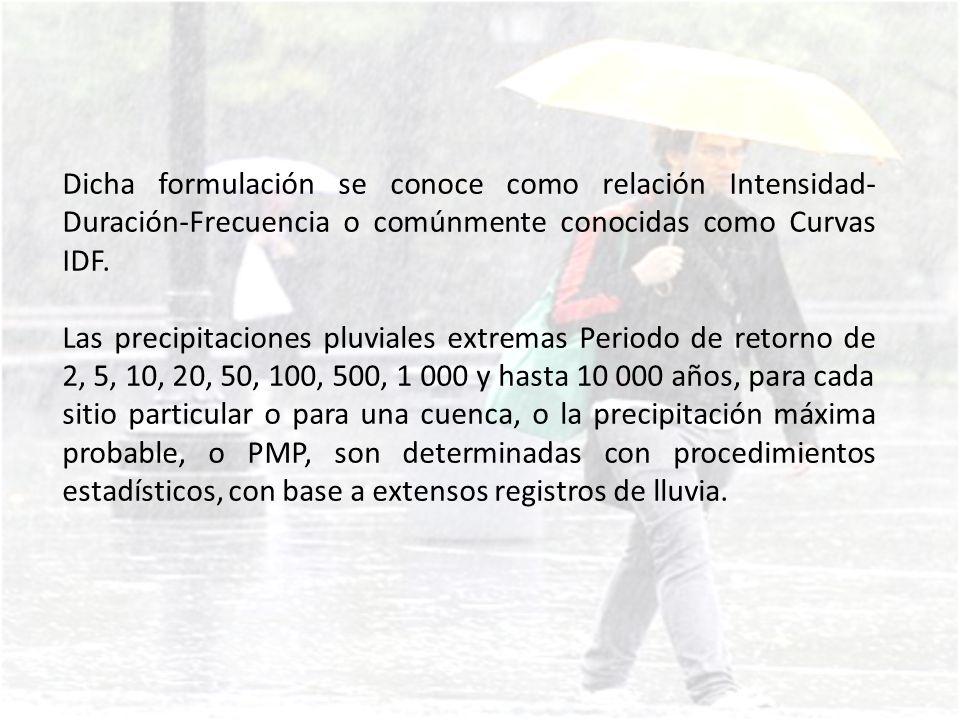FORMACIÓN DE LAS PRECIPITACIONES