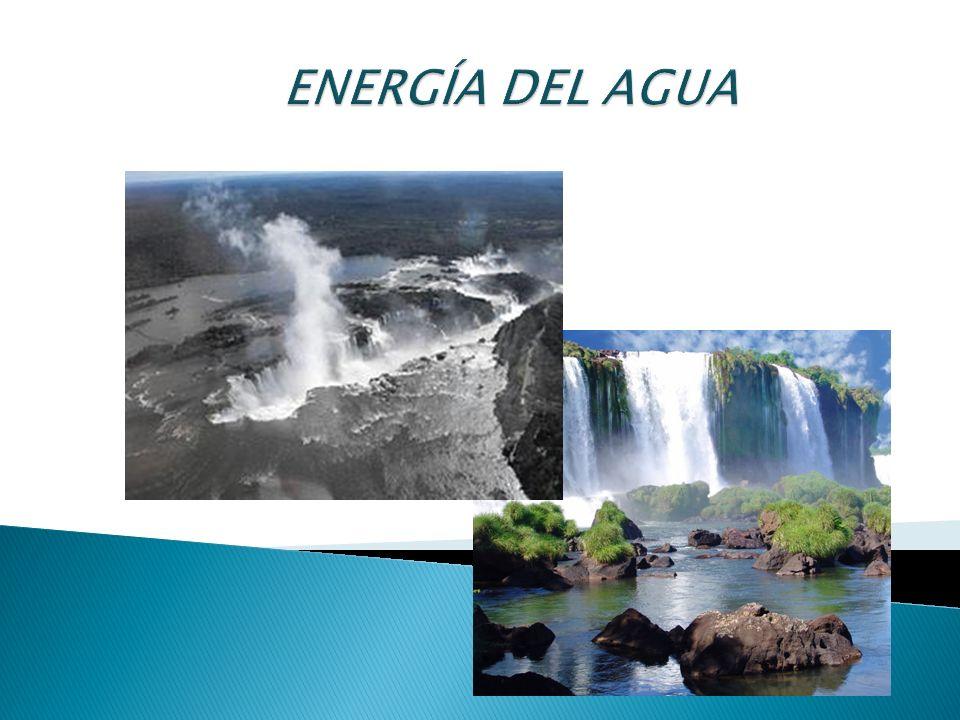 El ciclo del agua emite una gran cantidad de energía, la cual procede de la que aporta la insolación.