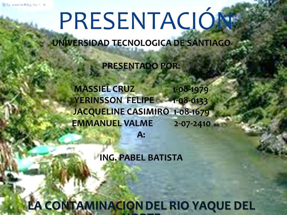 PRESENTACIÓN UNIVERSIDAD TECNOLOGICA DE SANTIAGO PRESENTADO POR: MASSIEL CRUZ 1-08-1979 YERINSSON FELIPE 1-08-0133 JACQUELINE CASIMIRO 1-08-1679 EMMAN