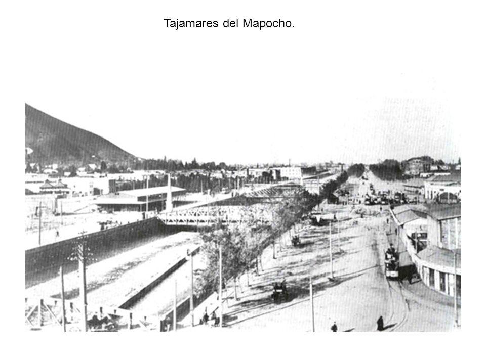 Tajamares del Mapocho.