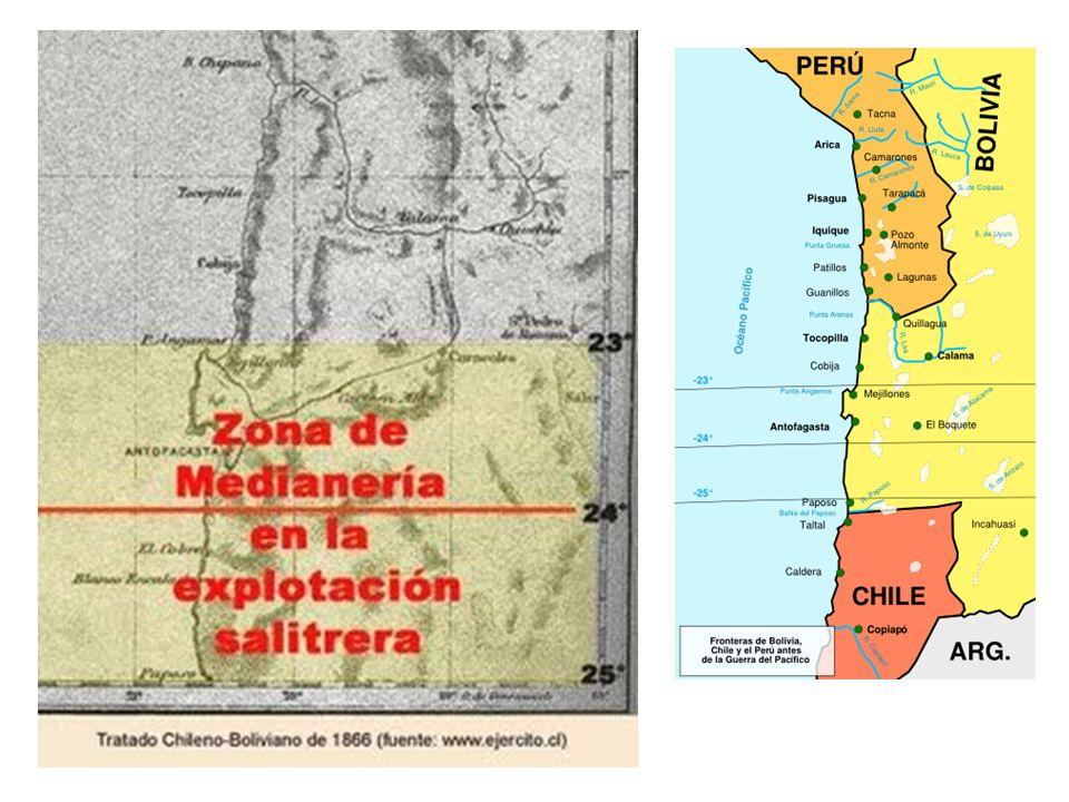 Chile y Argentina en 1878(diciembre) Firmaron el tratado de Fierro-Sarratea : Posponía la discusión sobre la soberanía para más adelante, pero permitía el control de Chile y Argentina en el Estrecho.