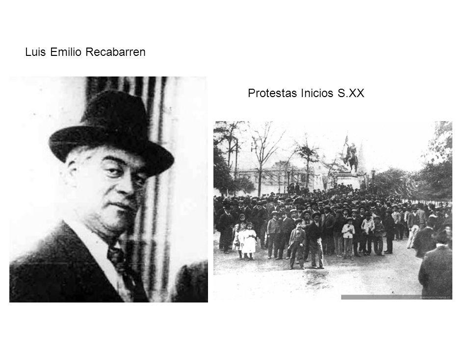 Luis Emilio Recabarren Protestas Inicios S.XX