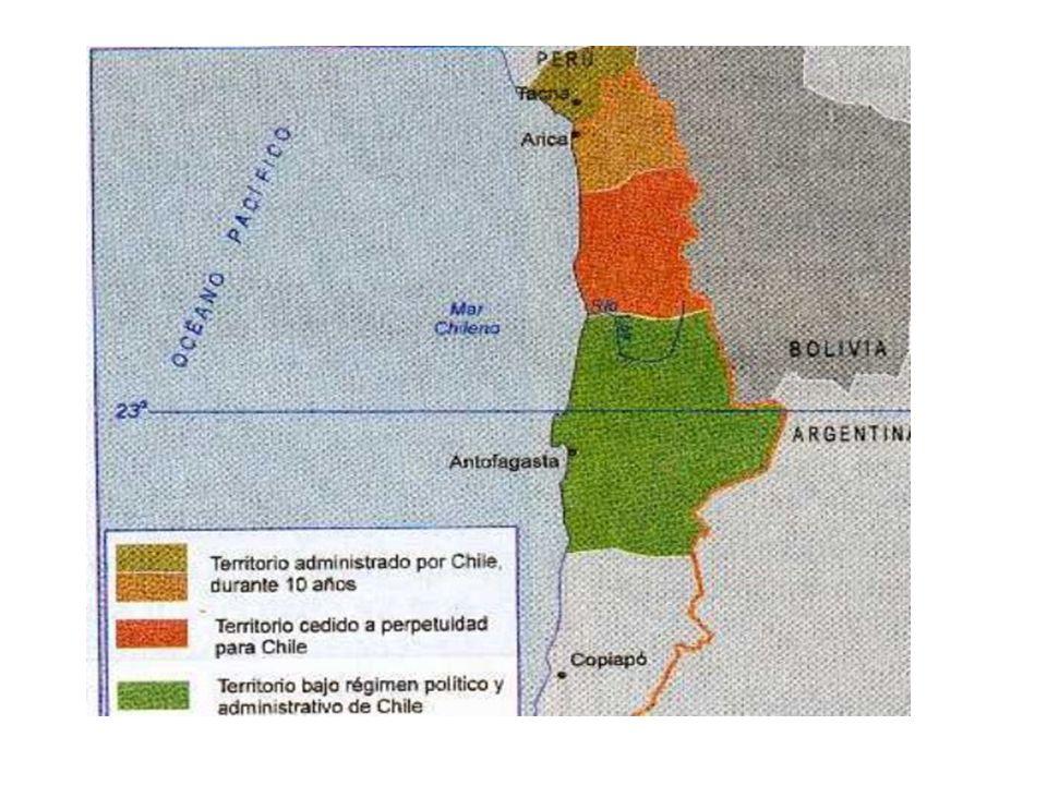 En 1904 William Braden, introdujo en Chile el proceso de flotación.