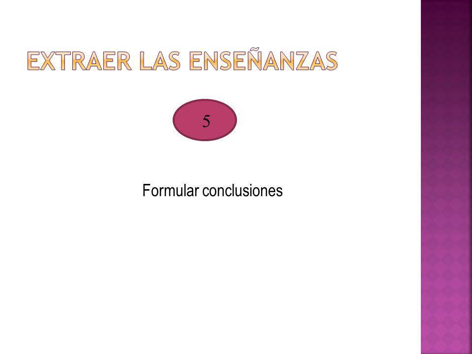 Formular conclusiones 5