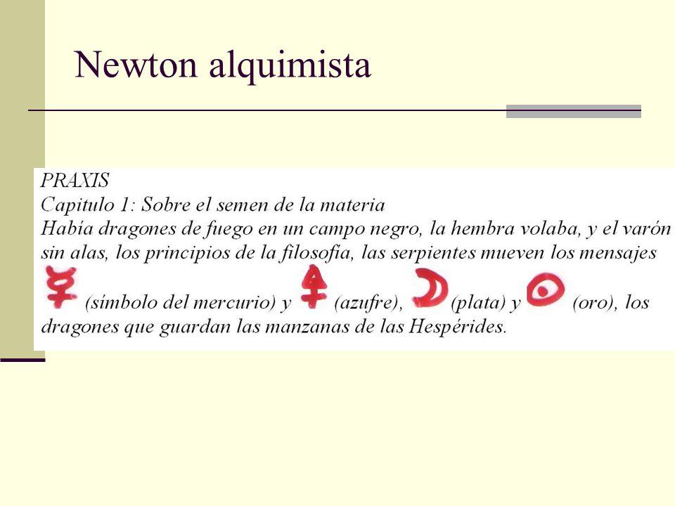 Newton alquimista