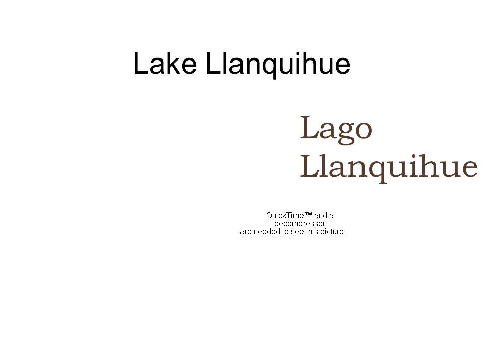 Lake Llanquihue Lago Llanquihue