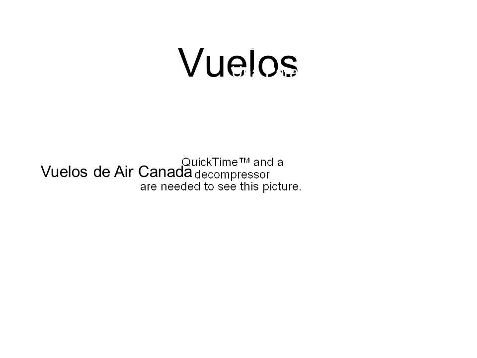 Vuelos Vuelos de Air Canada Una Parada en Toronto $1270 por todos los direcions Vuelos de Air Canada Necesita el pasaporte.